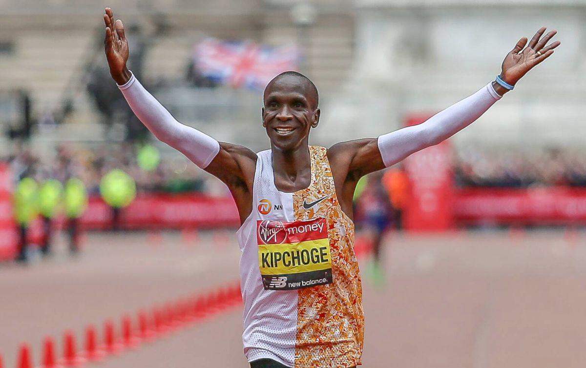 Eliud Kipchoge record maratona